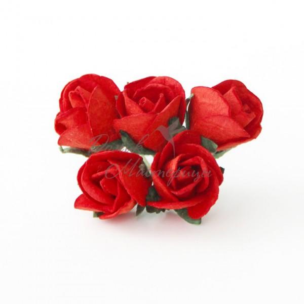 Бутон розы БОЛЬШОЙ КРАСНЫЙ, 101