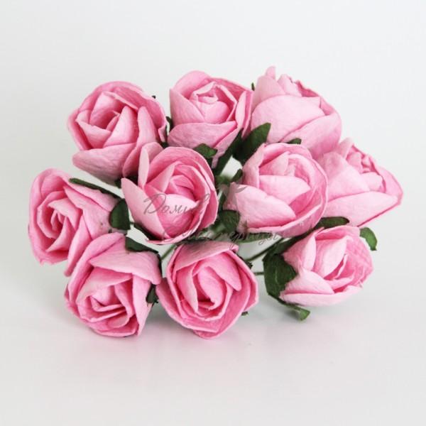 Бутон розы БОЛЬШОЙ РОЗОВЫЙ, 120
