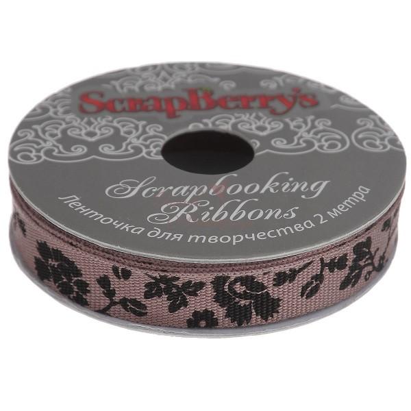 Тесьма ScrapBerry's, какао