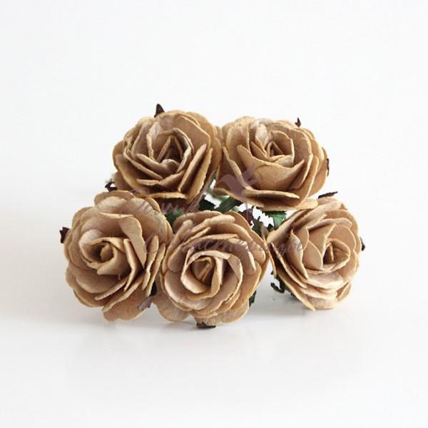 Роза 4 см, КОФЕ С МОЛОКОМ, 148