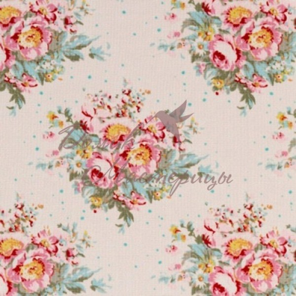 Summer Floral Dove White, 480886