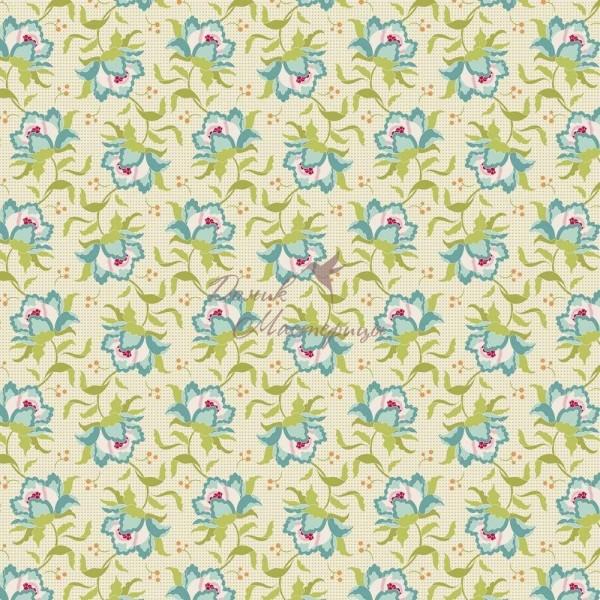 Tilda Clown Flower Green, 481326