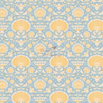 Garden Bees Blue, 481319