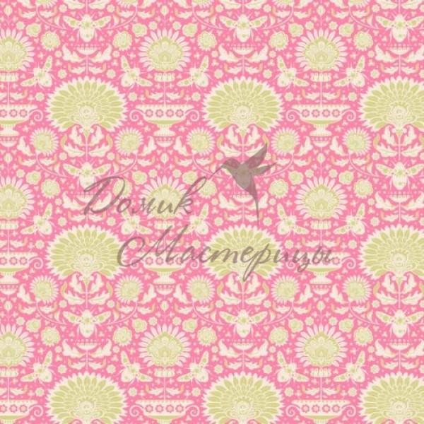 Garden Bees Pink, 481318