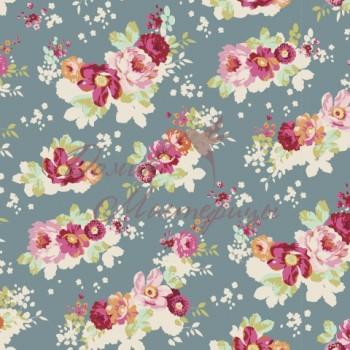 Flowercloud Teal, 481225