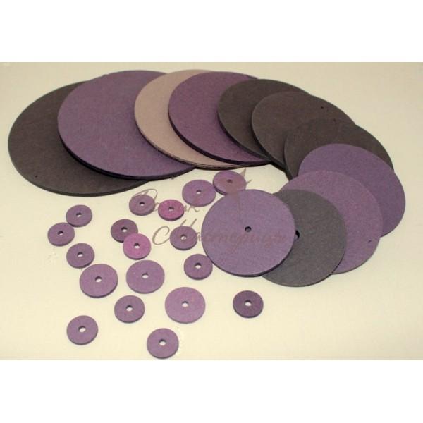 Диски картон, 15-50 мм