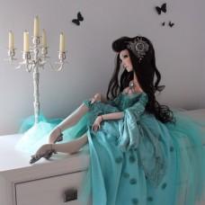 Мастер-класс Галины Дмитрук Будуарная кукла